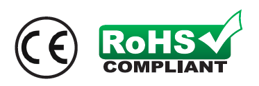 CE / RoHS Compliancy Logo
