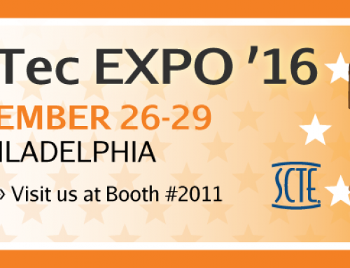 Visit PRO at the Cable-Tec EXPO '16 — Booth 2011