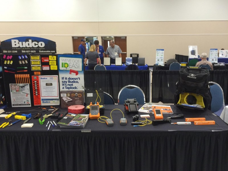 Precision Rated Optics and Budco attend the Bright House Networks Technical Training Seminars